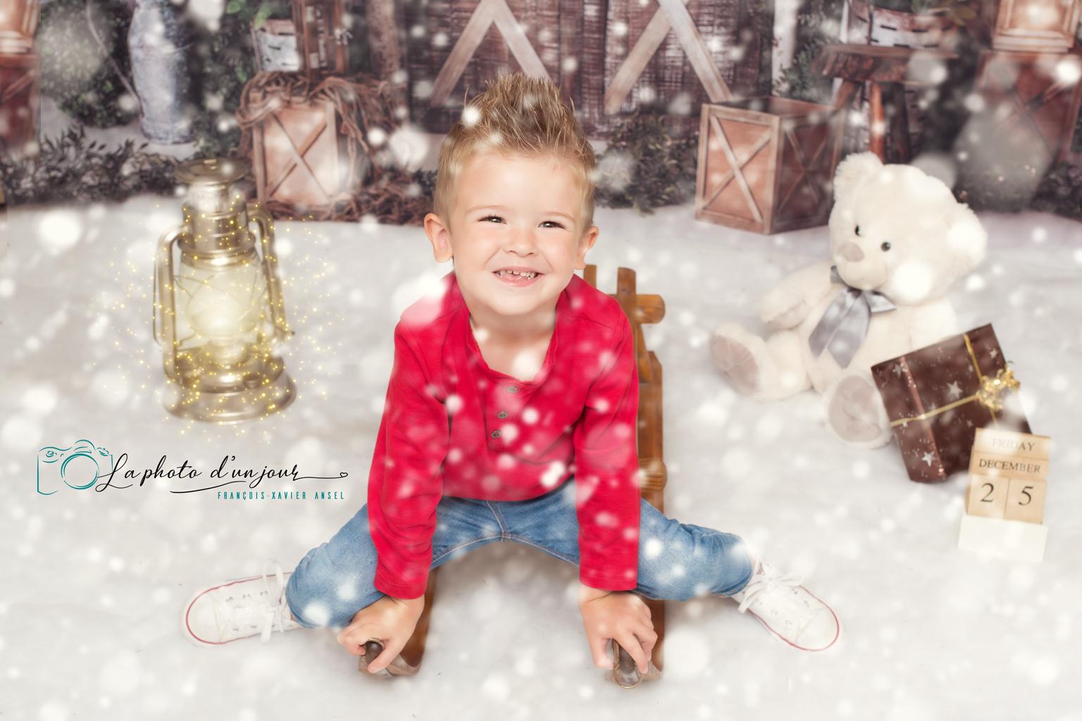 La magie de Noël chez votre photographe